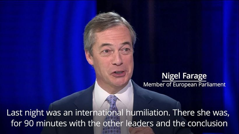 Nigel Farage calls Brexit extension an 'international humiliation'