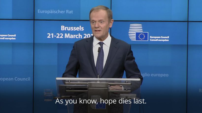 Donald Tusk: EU is 'prepared for the worst' on Brexit