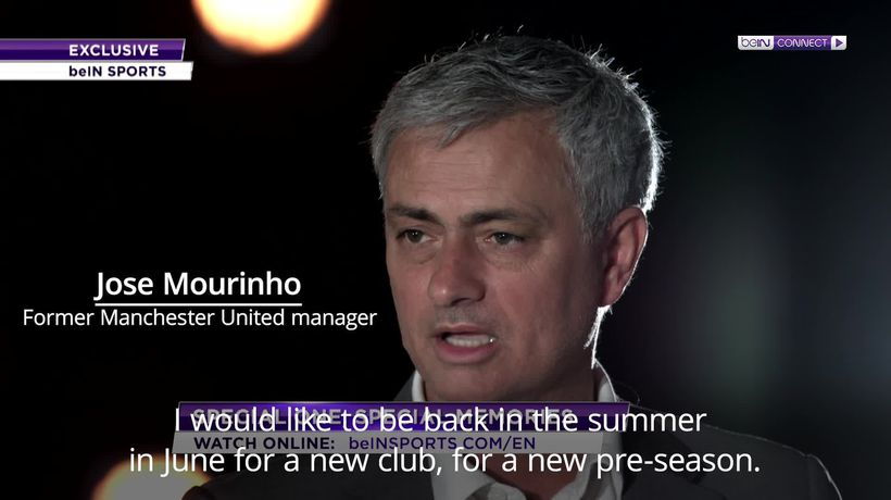 Jose Mourinho ready for managerial return in summer