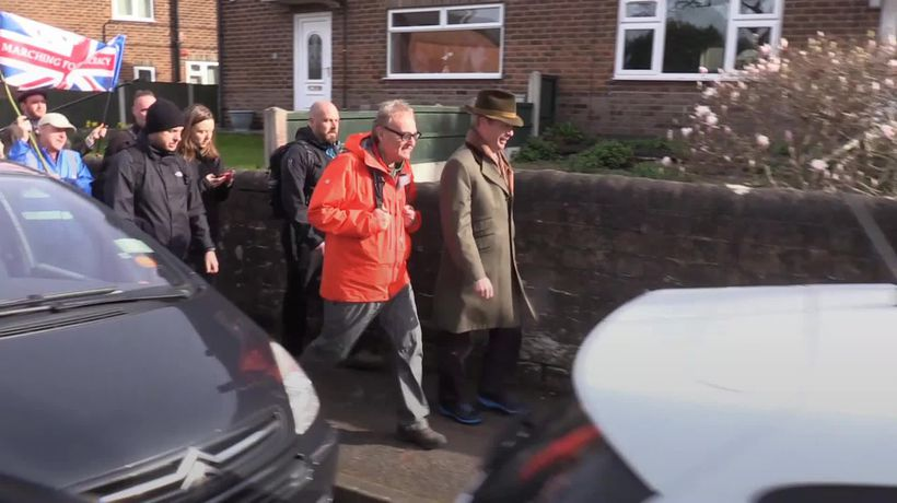 Nigel Farage on March to Leave