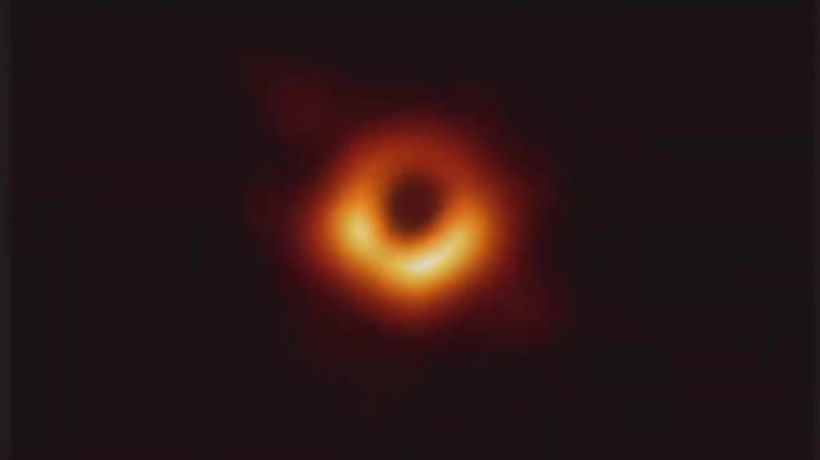 Black hole 'event horizon' image captured for the first time