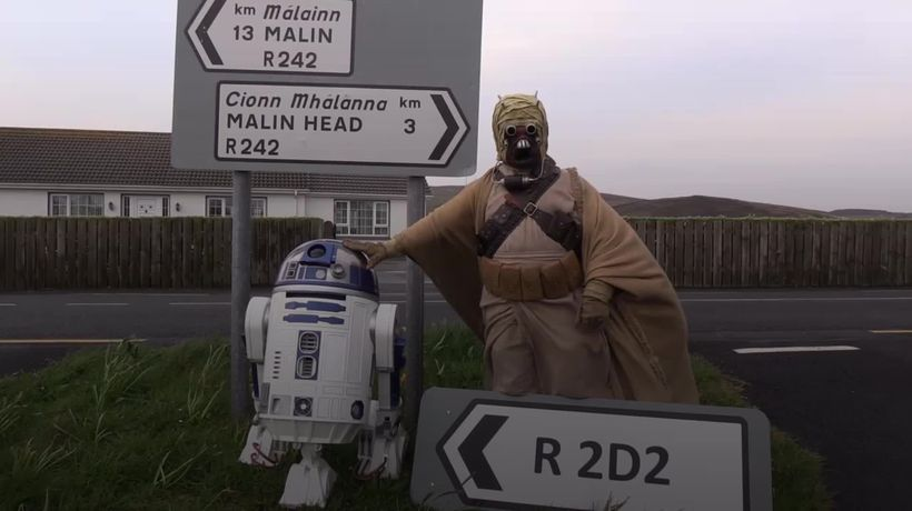 Star Wars favourite has scenic road named after him in Ireland