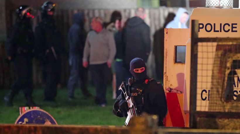 Woman shot dead in Londonderry unrest