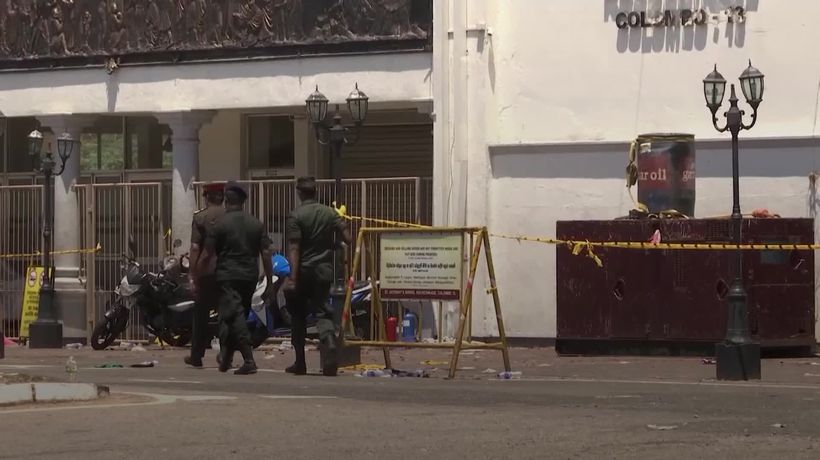 Sri Lankan High Commissioner to the UK says eight British nationals killed in attacks