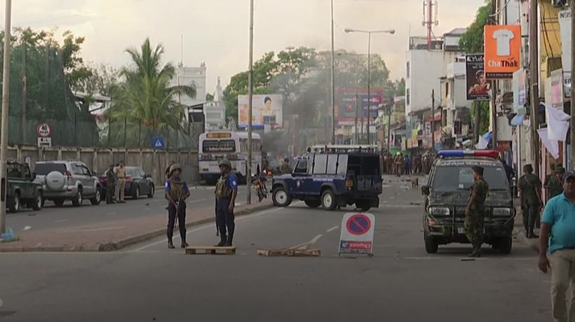 Further explosion near St Anthony's Church in Colombo
