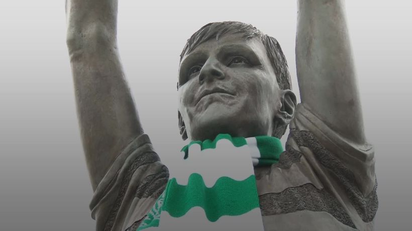 Celtic fans pay tribute to 'Lisbon Lions' captain Billy McNeill