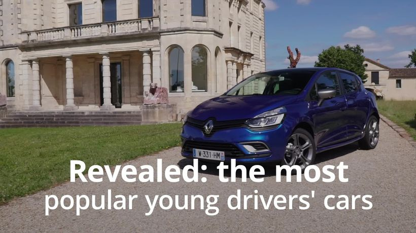 Revealed: The most popular cars among young drivers