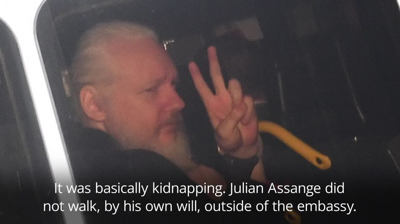 Police arrest of Julian Assange was kidnap, former diplomat says