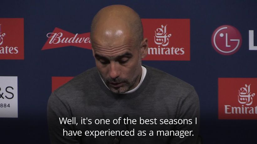 Pep Guardiola: What we have done is harder than winning the Champions League