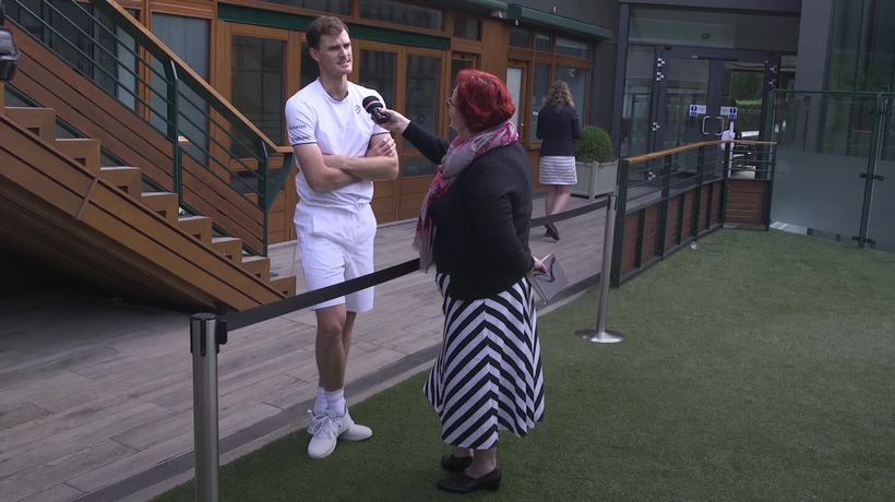 Jamie Murray: Andy is on track with his recovery