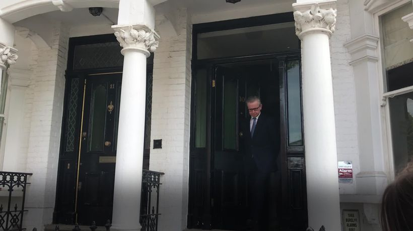 Michael Gove confirms he will enter the race to become the Conservative leadership race
