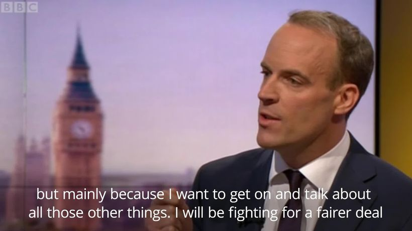 Tory leadership contender: Dominic Raab promises to keep no-deal Brexit on the table