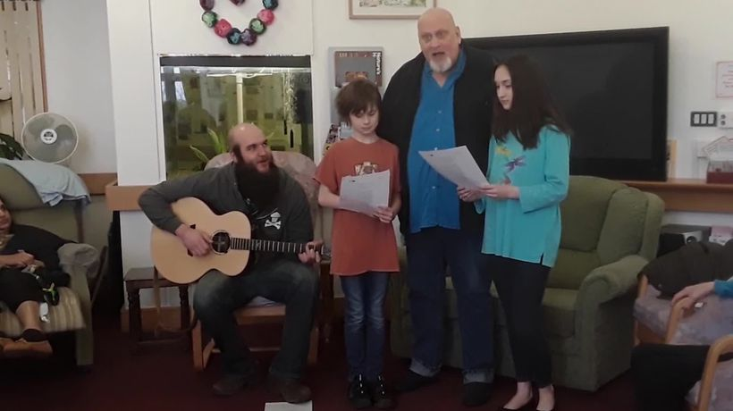 Musician who helps dying people write personal songs gets national recognition