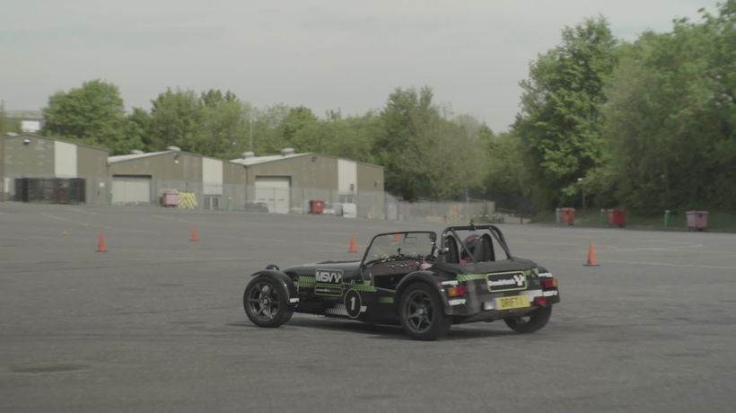 A look at the Caterham Drifting Experience