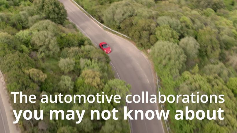 The automotive collaborations you might not know about