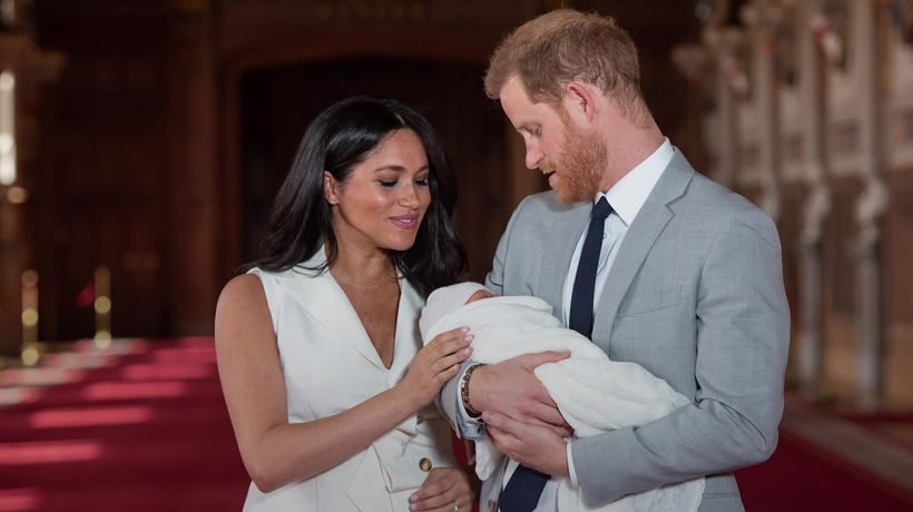 Harry and Meghan mark Father's Day with new Archie photograph