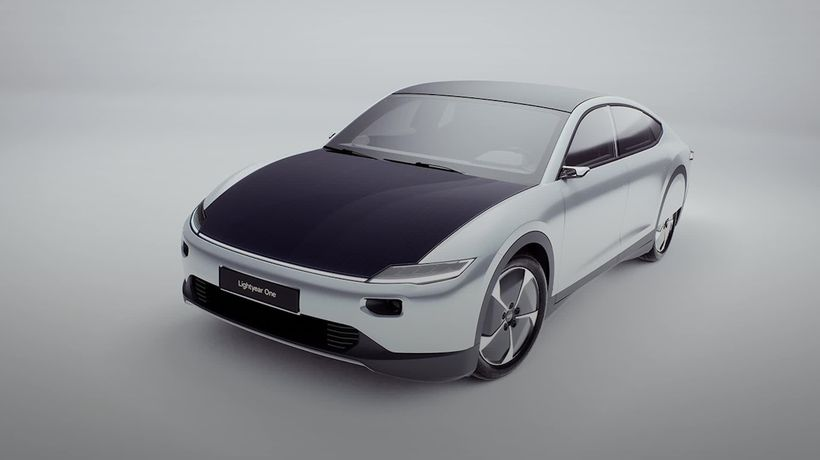 Lightyear launches the first long-range solar car