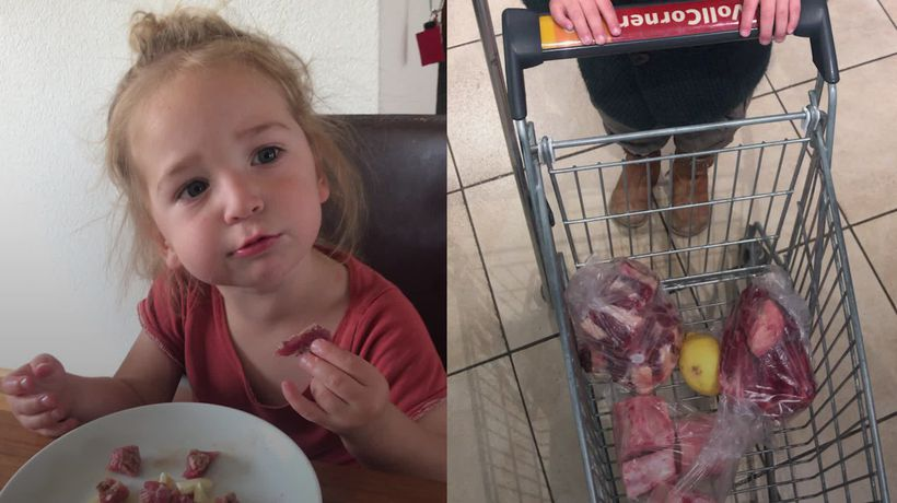 A vegan-turned-carnivore defends feeding her son on a meat-only diet