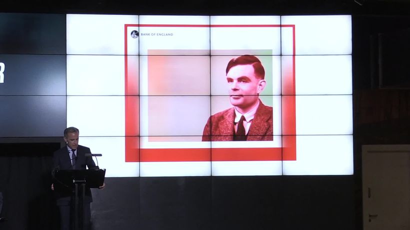 Alan Turing unveiled as new face on GBP50 note