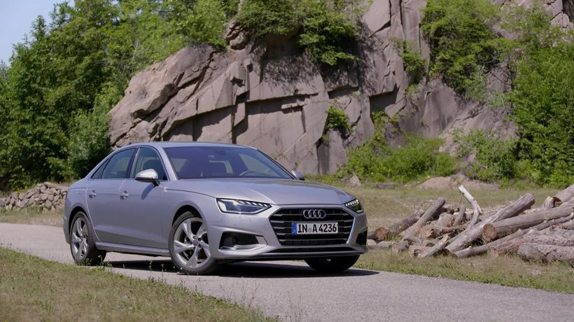 This is the facelifted Audi A4