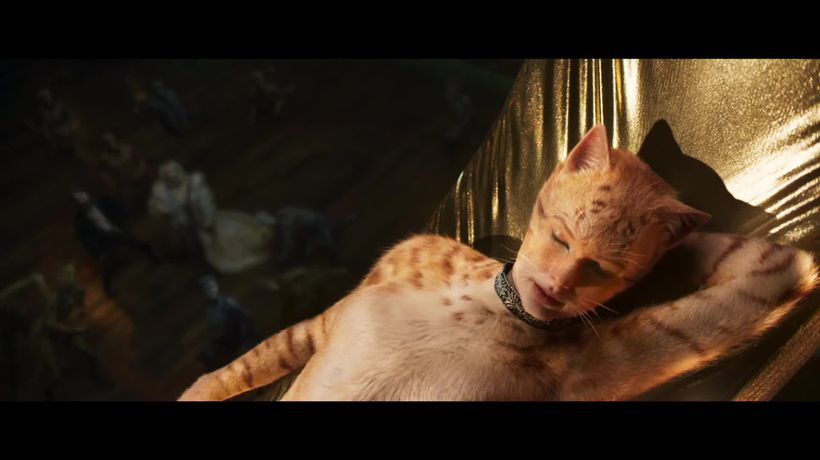 Cats: Fans get first look at Taylor Swift in new trailer