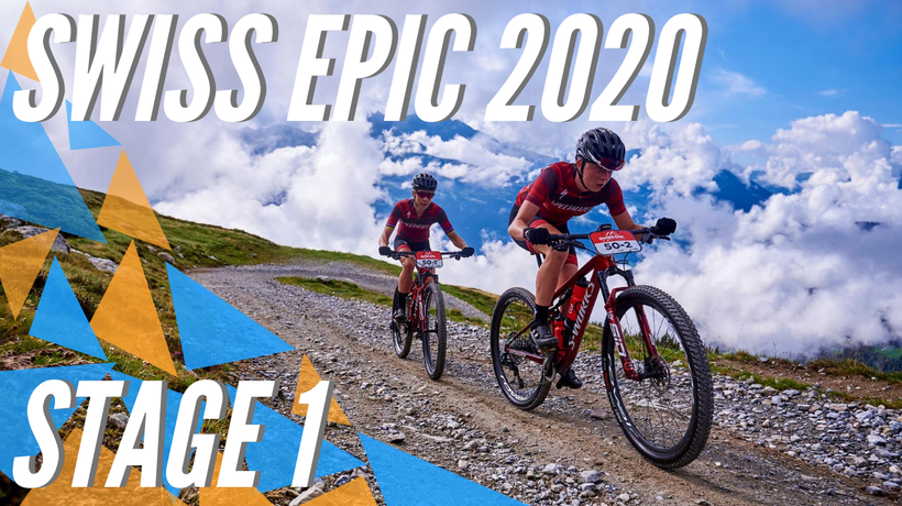 Favorites Schurter/Forster and Langvad/Batten win the Opening Stage of the 2020 Swiss Epic