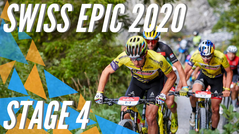 Schurter & Forster and Langvad & Batten also dominate Queen Stage at Swiss Epic 2020