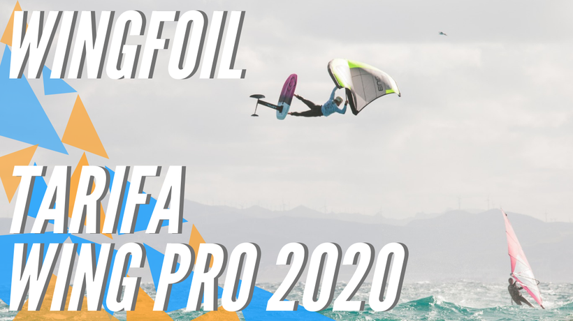 Swiss Balz Müller and Maxime Chabloz dominate at the Tarifa Wing Pro 2020!