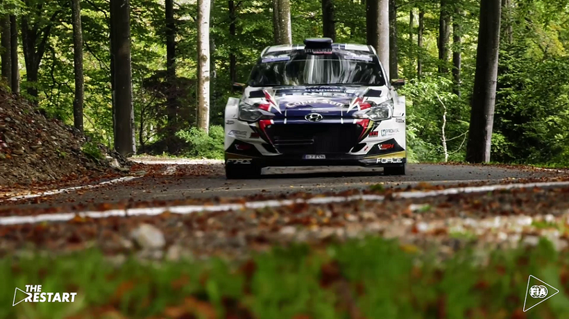 Motorsport restarts with the European Rally Trophy