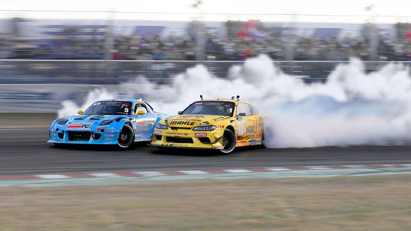 Drifting legends drive for the FIA Intercontinental Drifting Cup in Riga (LVA) next weekend!