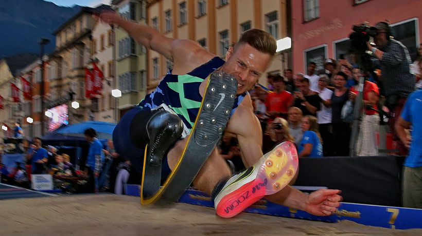Golden Roof Challenge 2021   World class performances in long jump competition