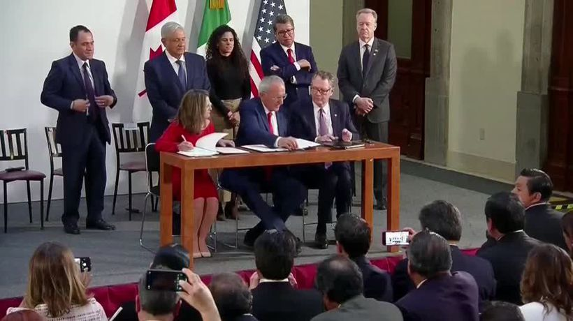 Democrats agree to support new USMCA trade deal