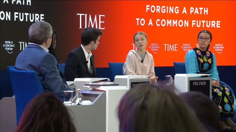 Thunberg: Pretty much nothing has been done to reduce CO2 emissions