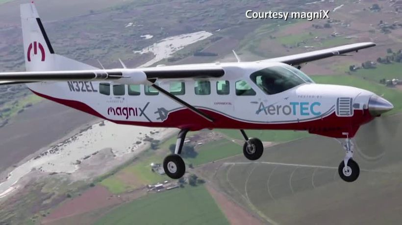 First successful flight for world's largest all-electric plane