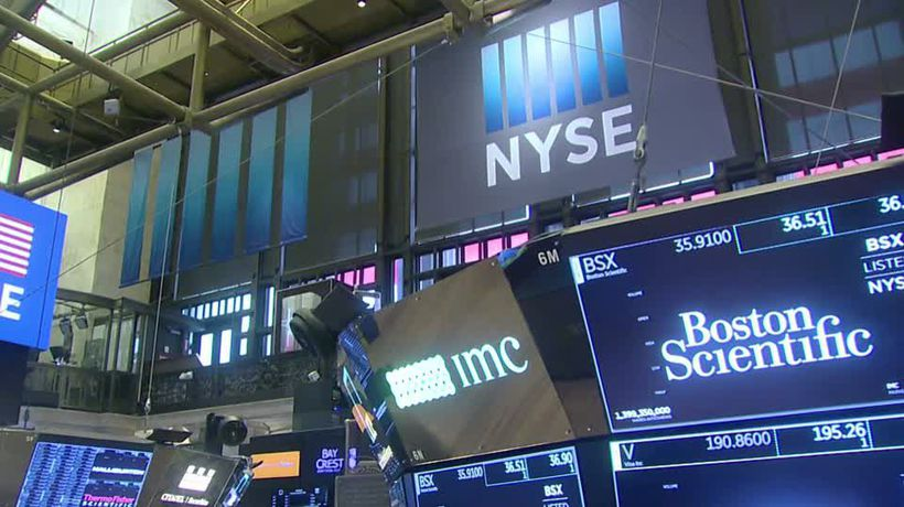 Stocks end mostly higher on Trump China comments