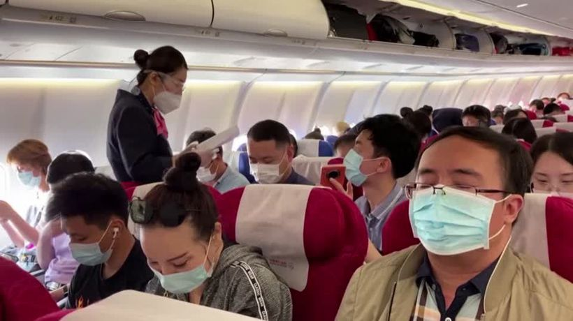 Trump administration bans Chinese airline flights to U.S.
