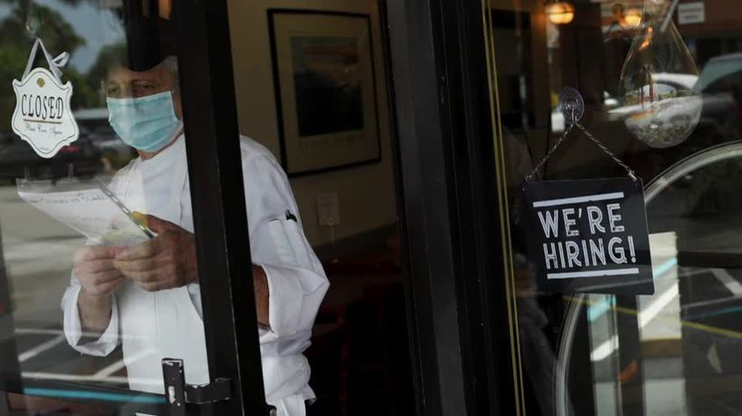 Job market stages stellar comeback in May