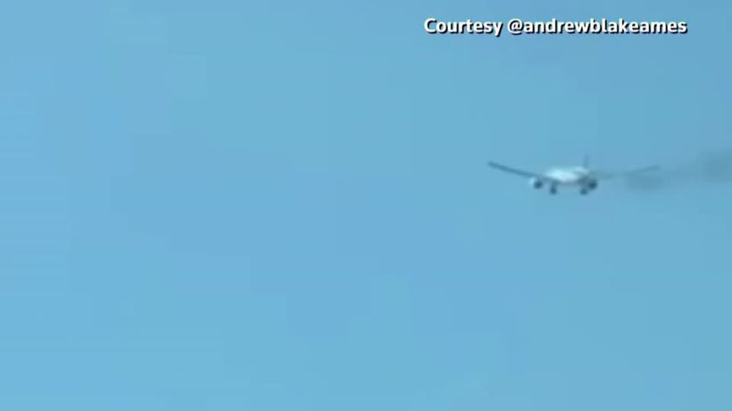 Philippine Airlines 777 makes emergency landing at LA airport