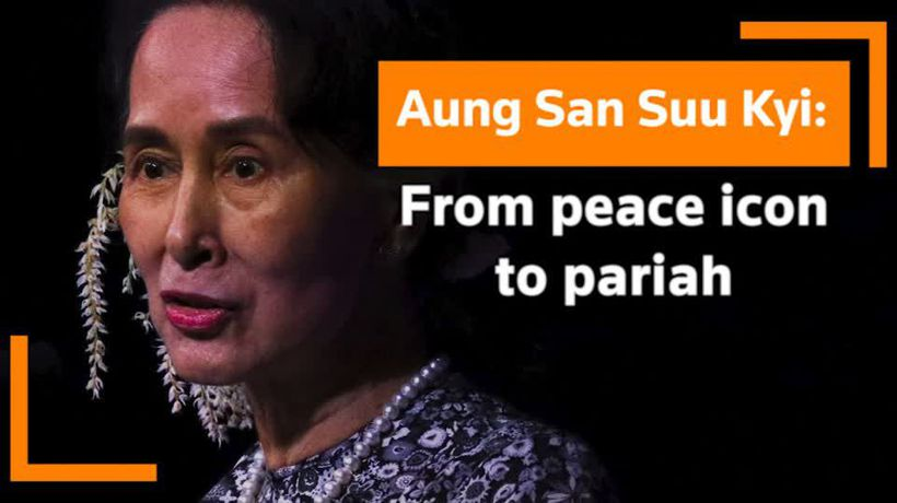 An icon's journey: Aung San Suu Kyi's life in troubled Myanmar