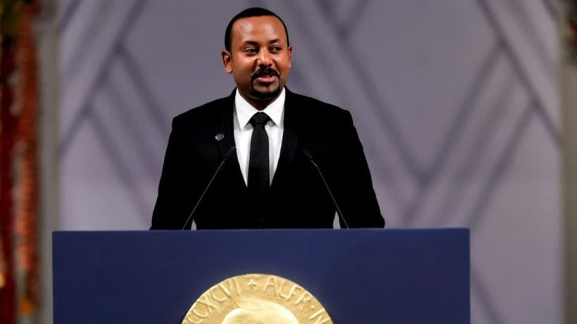 Ethiopia's Abiy gives a warning with his Nobel Prize