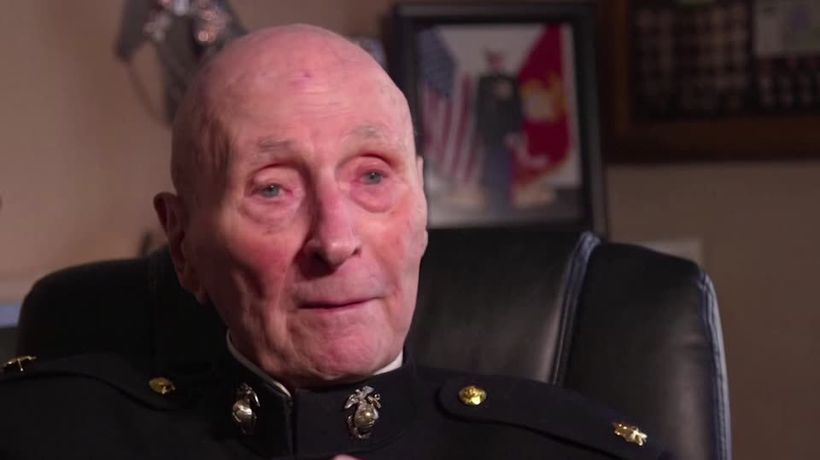 75 years after Iwo Jima, Marine recalls second chance at life