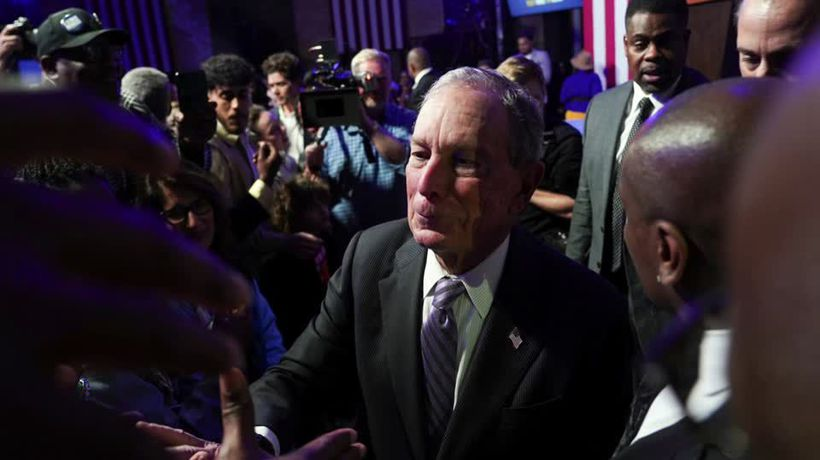 Bloomberg to make debut on 2020 debate stage