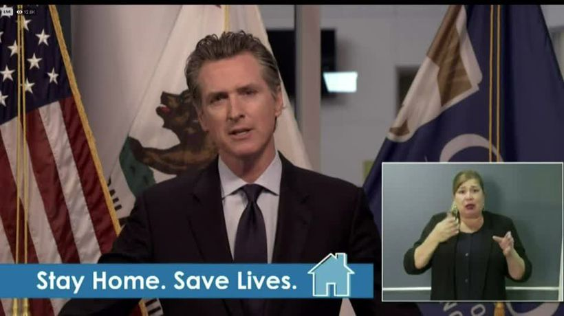 Young people will be impacted by coronavirus: Newsom