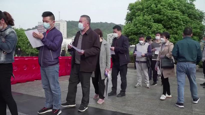 Frustration for Hubei citizens looking to return to normal life