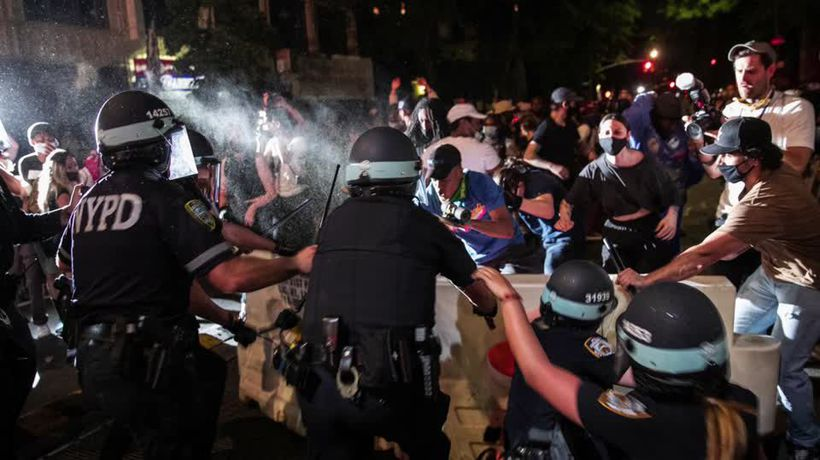 U.S. cities braced for another night of violence