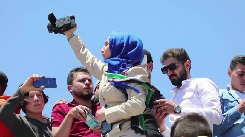 Syrian reporter scoops media award