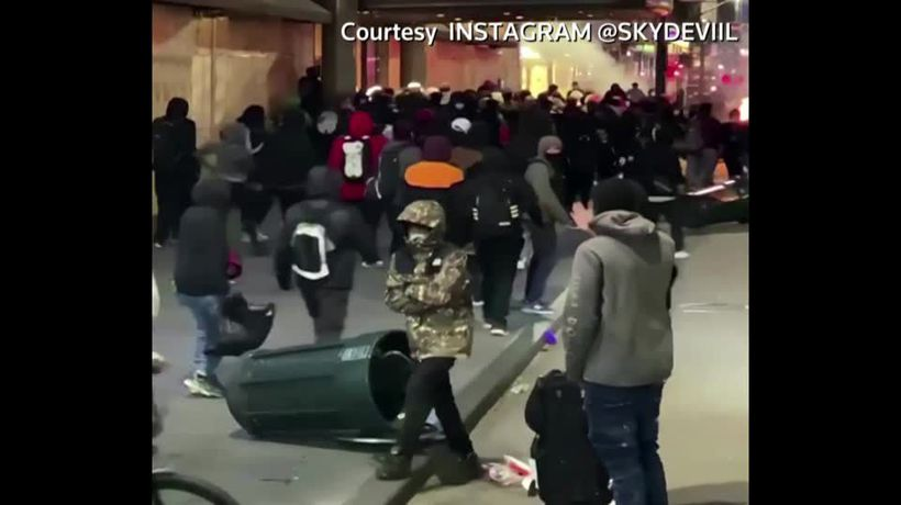 Stores looted in New York City after protest