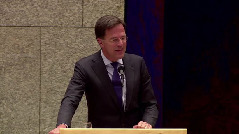Dutch PM changes stance on 'Black Pete'