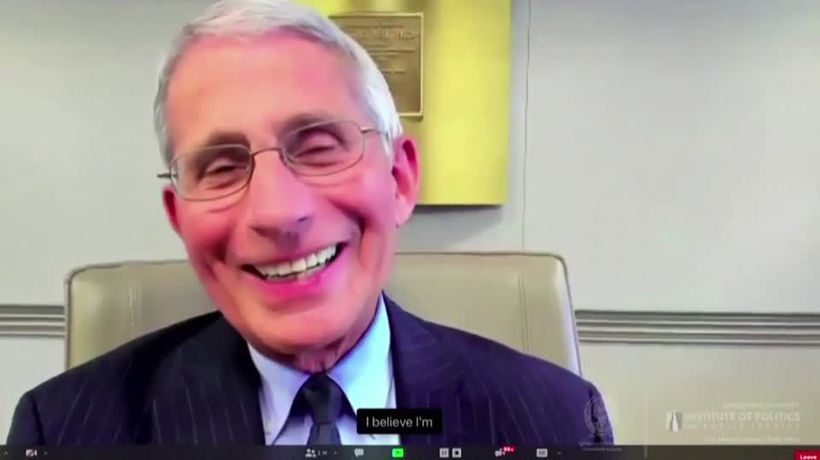 Amid politicized pandemic, Fauci says 'trust me'