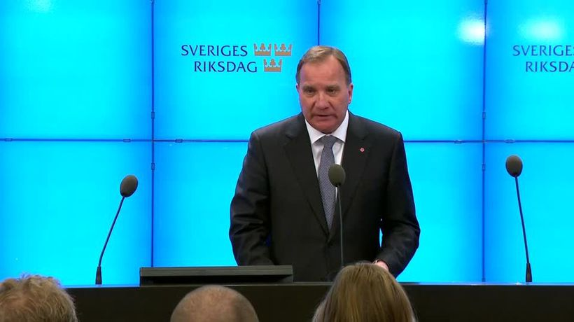 Sweden's Prime Minister ousted